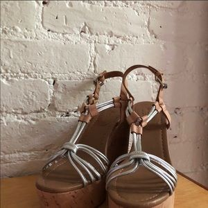Coach Shoes - Coach wedges - worn once.